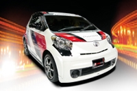 TOYOTA iQ THE LITTLE MONSTER PIONEER DEMOCAR